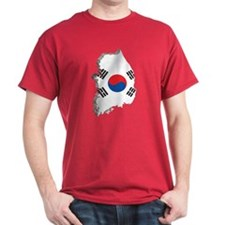 3D South Korea T-Shirt