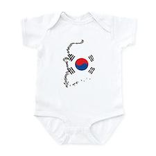 3D South Korea Infant Bodysuit