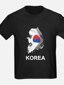 Map Of Korea T