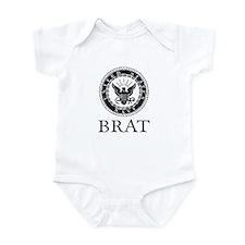 Navy Brat Infant Bodysuit