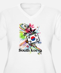 Flower South Korea T-Shirt