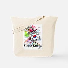Flower South Korea Tote Bag
