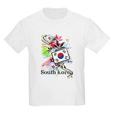 Flower South Korea T-Shirt