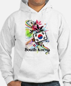 Flower South Korea Hoodie