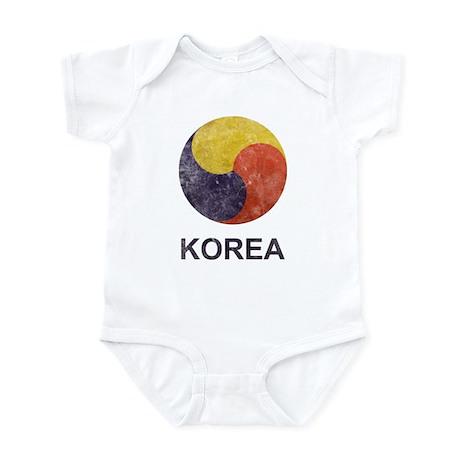 Vintage Korea Infant Bodysuit