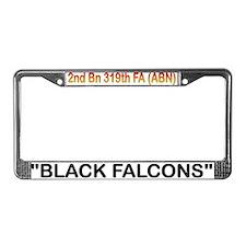 2nd Bn 319th FA (ABN) License Plate Frame