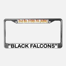 2nd Bn 319th FA (ABN) License Plate Frame
