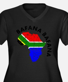 Bafana bafana of South Afica Women's Plus Size V-N