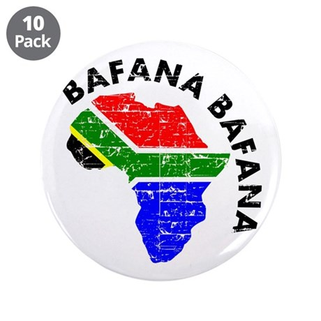 "Bafana bafana of South Afica 3.5"" Button (10 pack)"