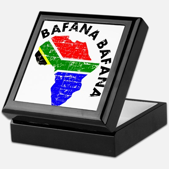 Bafana bafana of South Afica Keepsake Box