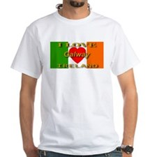 I Love Galway Ireland Heart F Shirt