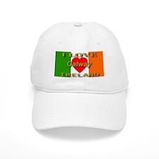 I Love Galway Ireland Heart F Baseball Cap