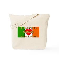 I Love Galway Ireland Heart F Tote Bag