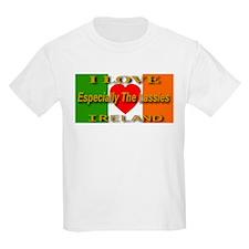 I Love Ireland Especially The Kids T-Shirt