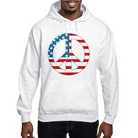 4th July Peace Hooded Sweatshirt