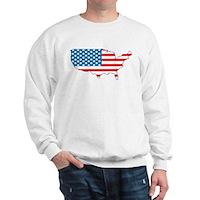 America Flag 4th July Sweatshirt