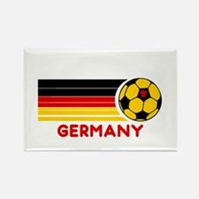Germany Soccer Rectangle Magnet