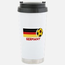 Germany Soccer Stainless Steel Travel Mug