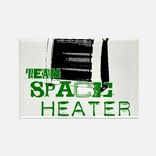 Team Space Heater Rectangle Magnet