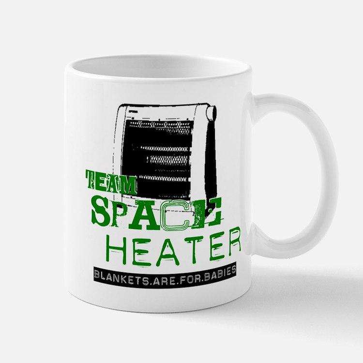 Team Space Heater Mug