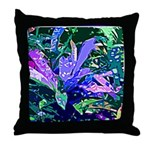 PLANT LEAVES Throw Pillow
