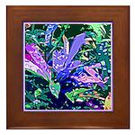 PLANT LEAVES Framed Tile