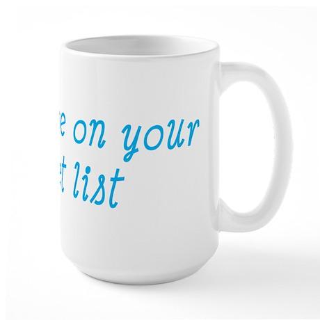 Bucket List Large Mug