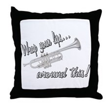 Wrap your lips... Throw Pillow