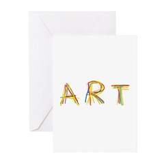 Art Greeting Cards (Pk of 20)