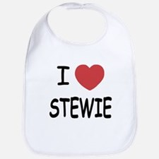 I heart Stewie Bib