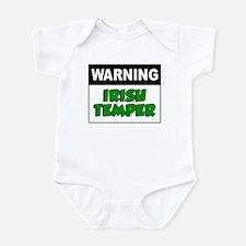 Warning Irish Temper Infant Bodysuit