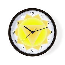 Third Chakra Wall Clock