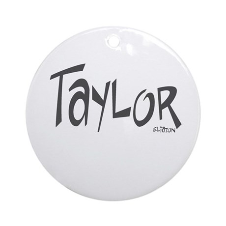 Taylor Ornament (Round)