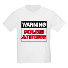 Warning Polish Attitude T-Shirt