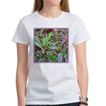 SPECKLED LEAVES Women's T-Shirt