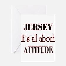 Jersey Attitude Greeting Card