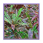 SPECKLED LEAVES Tile Coaster