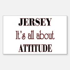 Jersey Attitude Decal