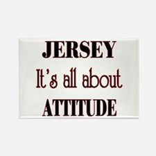 Jersey Attitude Rectangle Magnet