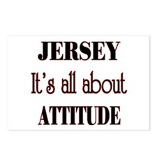 Jersey Attitude Postcards (Package of 8)