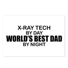 World's Best Dad - X-Ray Tech Postcards (Package o