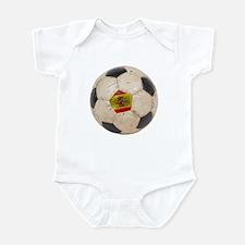 Spain Football Infant Bodysuit