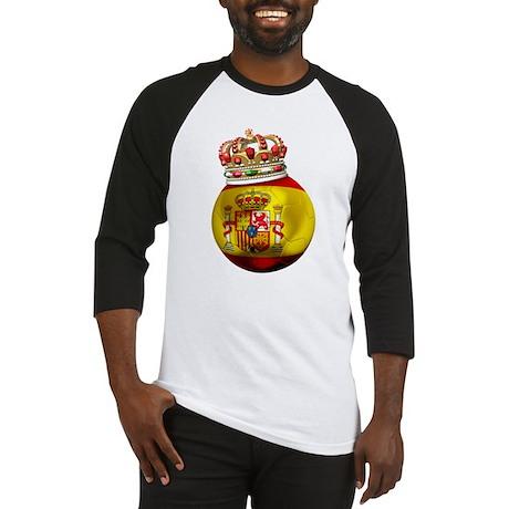Spain Football Champion Baseball Jersey