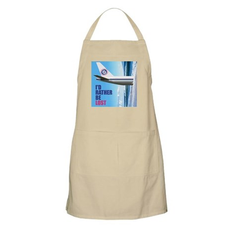 I'd Rather Be LOST Apron