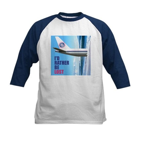 I'd Rather Be LOST Kids Baseball Jersey