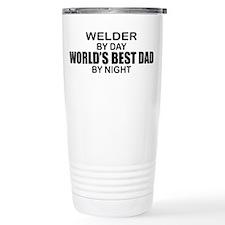 World's Best Dad - Welder Travel Mug