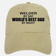 World's Best Dad - Welder Baseball Baseball Cap