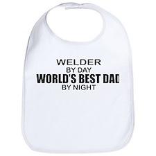 World's Best Dad - Welder Bib