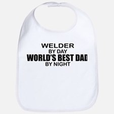 World's Best Dad - Welder Bib