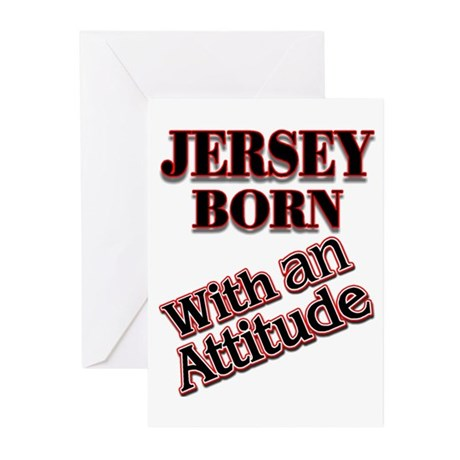 born in Jersey Greeting Cards (Pk of 20)